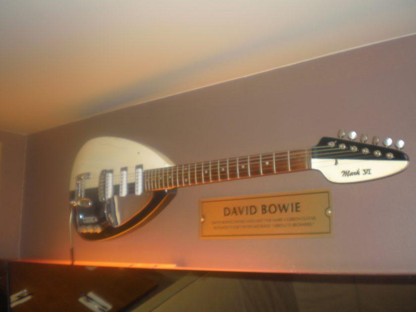 Bowie's Vox VI guitar