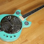 Christmas Special: DELTA 6 in Seafoam Green, Mandola in Metallic Blue