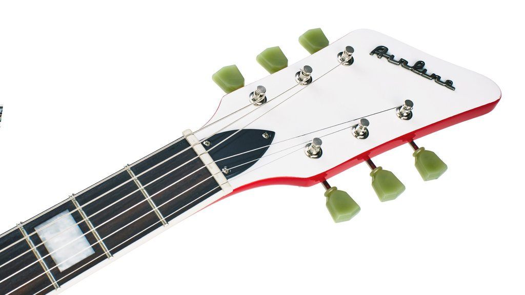 New Airline guitar headstock