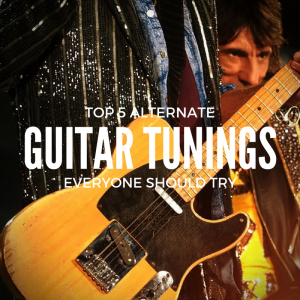 TOP 5 Alternate guitar tunings everyone should try