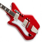 Airline '59 Custom 2P Electric Guitar (Red, Left-Handed)