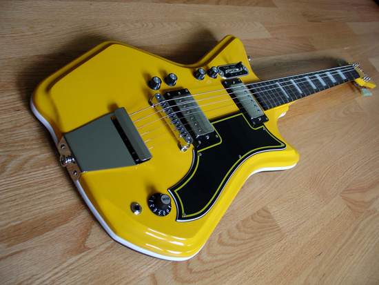 Limited Edition Airline Catalina Electric Guitar [Two Tone Yellow/Black]