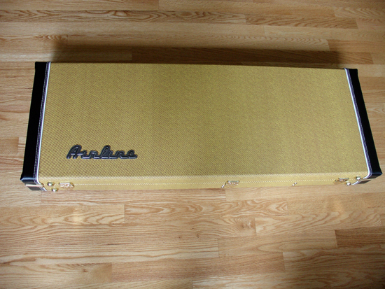 Limited Edition Airline Catalina Electric Guitar (Two Tone Yellow/Black)