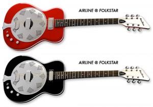 Airline Folkstar Resonator Guitar