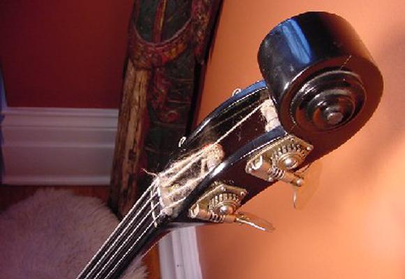 1960's Ampeg AUB Bass Guitar