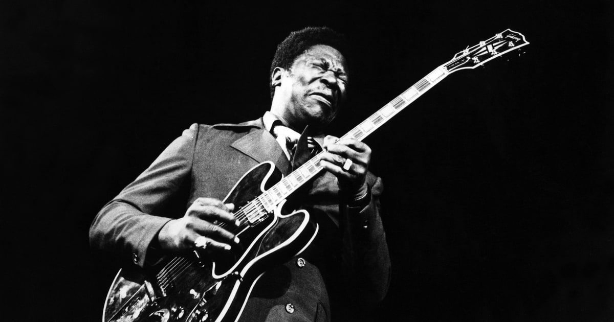 BB King... king of vibrato!