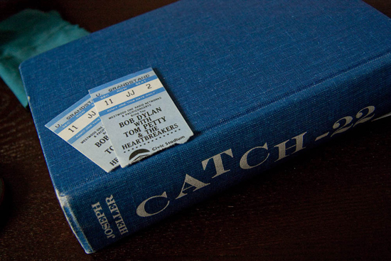 Bob Dylan with Tom Petty & The Heartbreakers concert ticket stubs (June 1986 - Portland, OR)