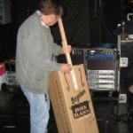 Clint Black's Band Wanted My Cardboard Bogdon Bass!