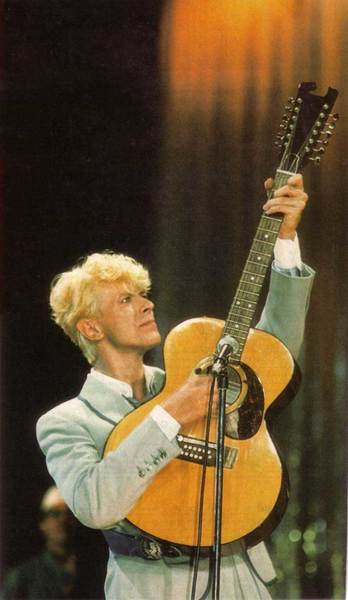 Eighties Bowie meets Ziggy-era acouistic.