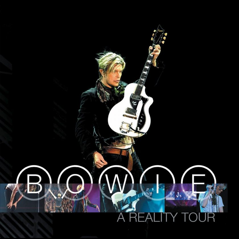Bowie 'A Reality Tour' cover