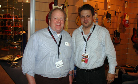 Musikmesse 2008: Bryan and Brian from St. Blues Guitars