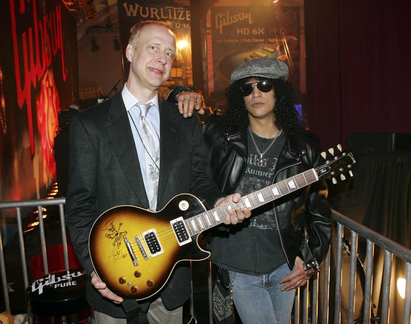 Henry Juszkiewicz and Slash