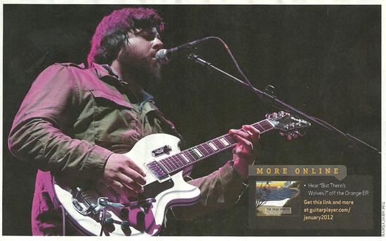 Casey Crescenzo (The Dear Hunter) - Coronado '59 Custom Guitar