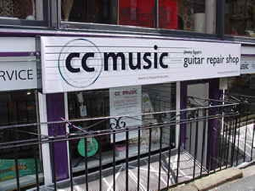 CC Music in Glasgow, Scotland