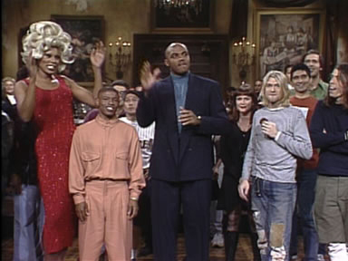 Charles Barkley, Nirvana, RuPaul & Muggsy Bogues on SNL (1993)