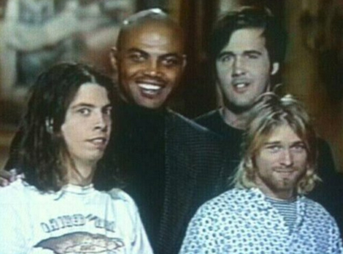 Charles Barkley and Nirvana on Saturday Night Live (1993)