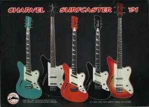 Charvel Surfcaster Guitar & Bass Ad (1991)