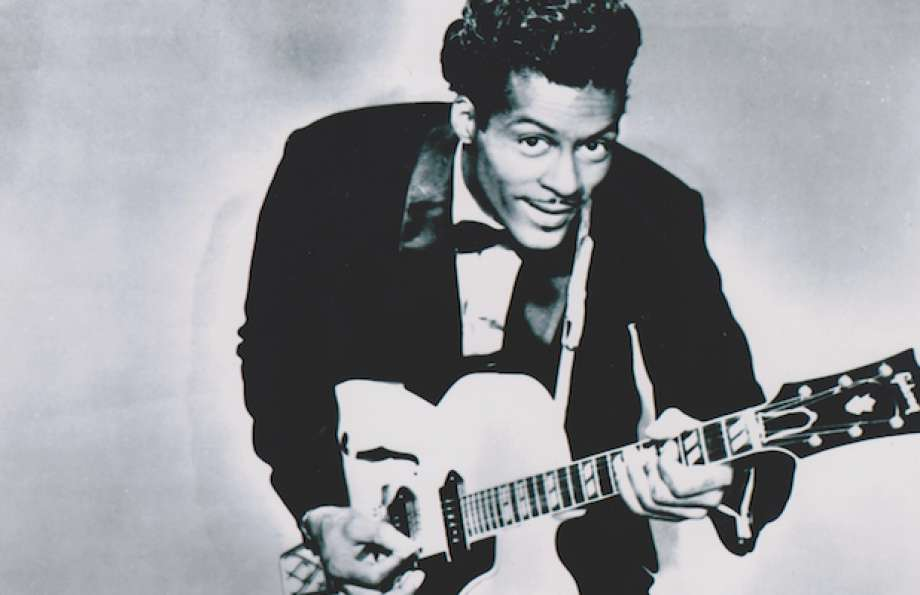 Chuck Berry, the father of rock'n'roll