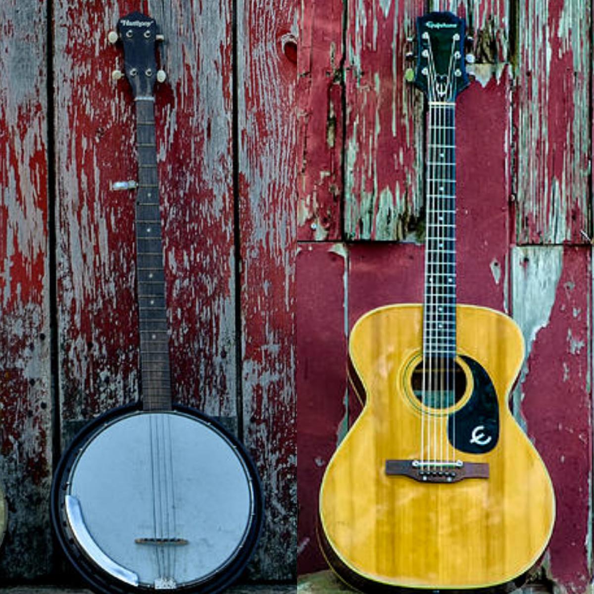 Banjo or guitar?