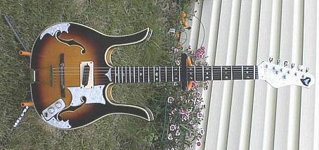 Custom Longhorn Guitar by Bill Wagoner (Plymouth, IN)