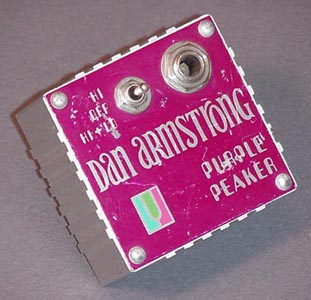 Dan Armstrong Purple Peaker Plug-in Guitar Effects Pedal