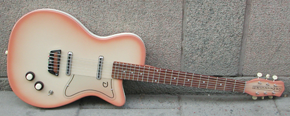 Danelectro Solid Body Guitar