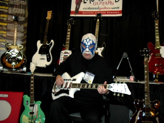 Danny Amis from Los Straitjackets