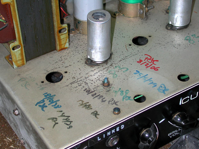David Gilmour's Custom Hiwatt 100 Amp