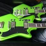 Limited Edition Airline 2P Electric Guitar in Metallic Margarita