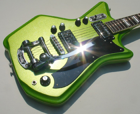 Eastwood Airline 2P Limited Edition Electric Guitar (Metallic Margarita)