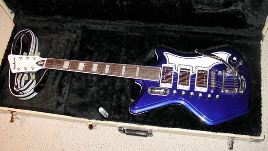 Eastwood Airline '59 Custom Electric Guitar (Limited Edition Indigo)