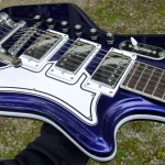 Limited Edition Airline '59 Custom Electric Guitar in Indigo