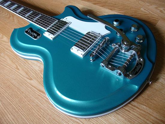 Airline '59 Coronado Electric Guitar (Metallic Blue)