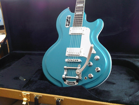 Airline '59 Coronado Electric Guitar (Metallic Blue)