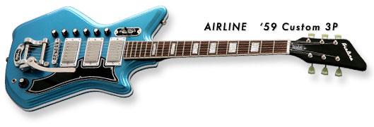 Airline '59 Custom 3P Guitar (G Love Signature Model)