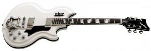 Airline '59 Custom Coronado Electric Guitar (White) from Eastwood Guitars