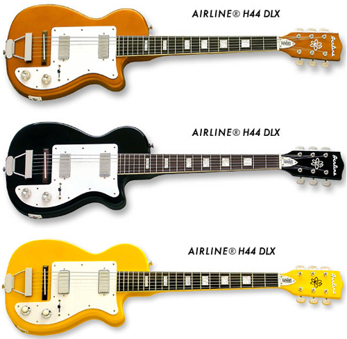 Guitar Review: Eastwood Airline H44 DLX Guitar