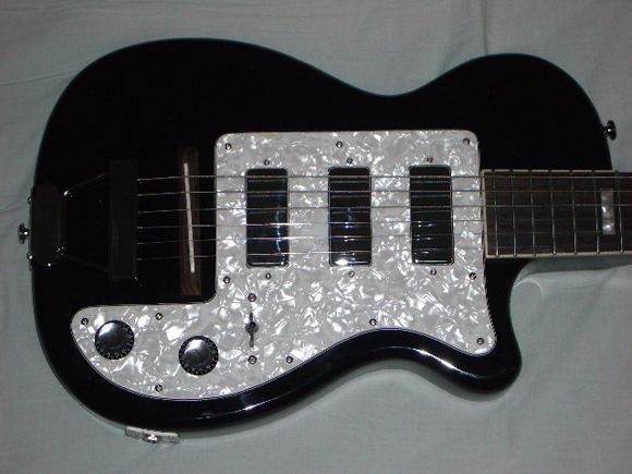 Eastwood Airline H44 DLX Guitar with 3 Pick-ups!