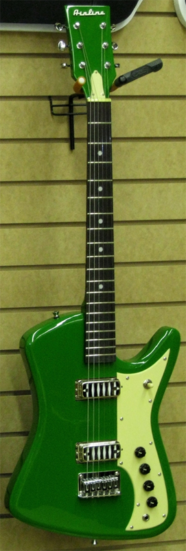 The Airline Bighorn Electric Guitar (Green)