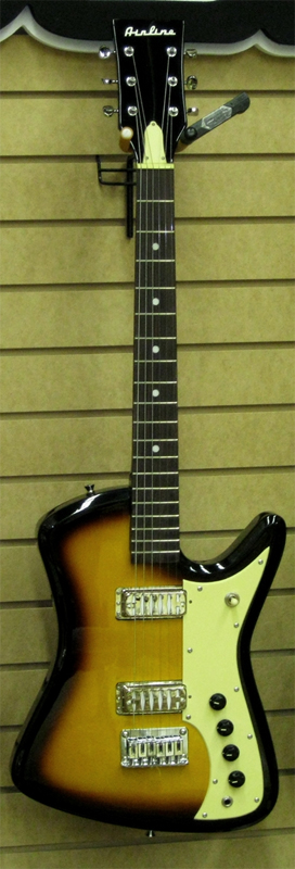 The Airline Bighorn Electric Guitar (Sunburst)