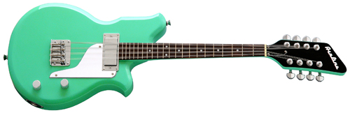 Eastwood Airline Electric Mandola (Seafoam Green)
