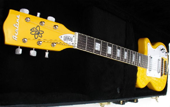 Eastwood Airline H44 Guitar in Taxi Cab Yellow