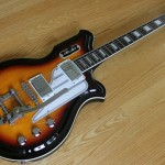 Eastwood Airline Map Guitar (Sunburst)