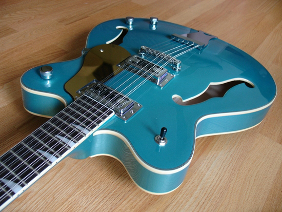 Limited Edition Eastwood Classic 12 12-String Electric Guitar (Metallic Blue)
