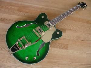 Eastwood Classic 6 LTD Electric Guitar (Greenburst)