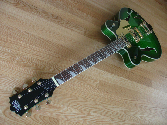 Eastwood Classic 6 LTD Electric Guitar (Greenburst)
