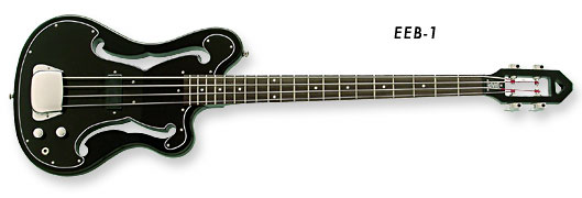 Eastwood EEB-1 Bass Guitar (Black Finish)