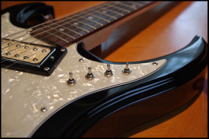 Eastwood Guitar Custom Mods - Hummingbird