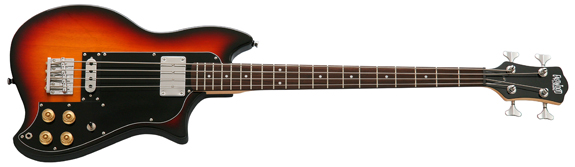 Eastwood Magnum Electric Bass Guitar (Sunburst)