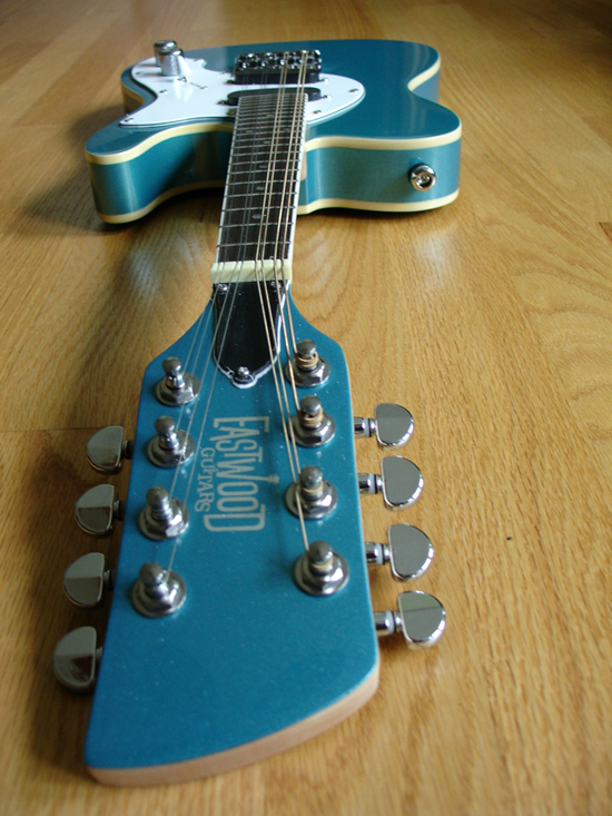 Limited Edition Eastwood Mandocaster - Metallic Blue